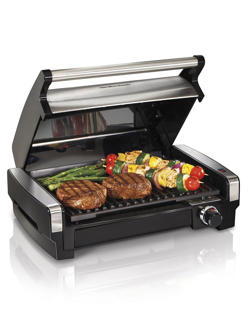 hamilton beach indoor electric grill is the perfect alternative to grilling outdoors