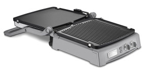 cuisinart griddler deluxe both an indoor grill and griddle