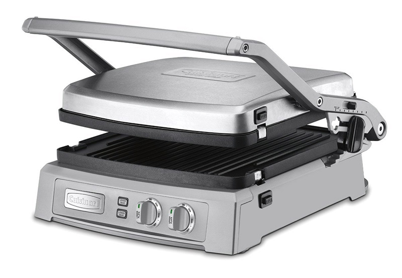 cuisinart griddler deluxe indoor electric grill