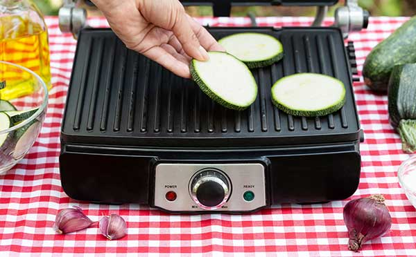 grill inside home